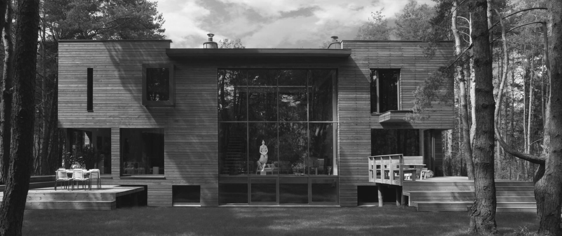 Dom z tężnią